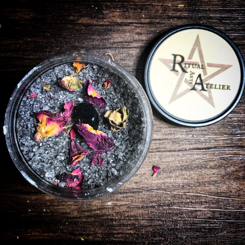 hekate ritual bath salts by ritual arts atelier