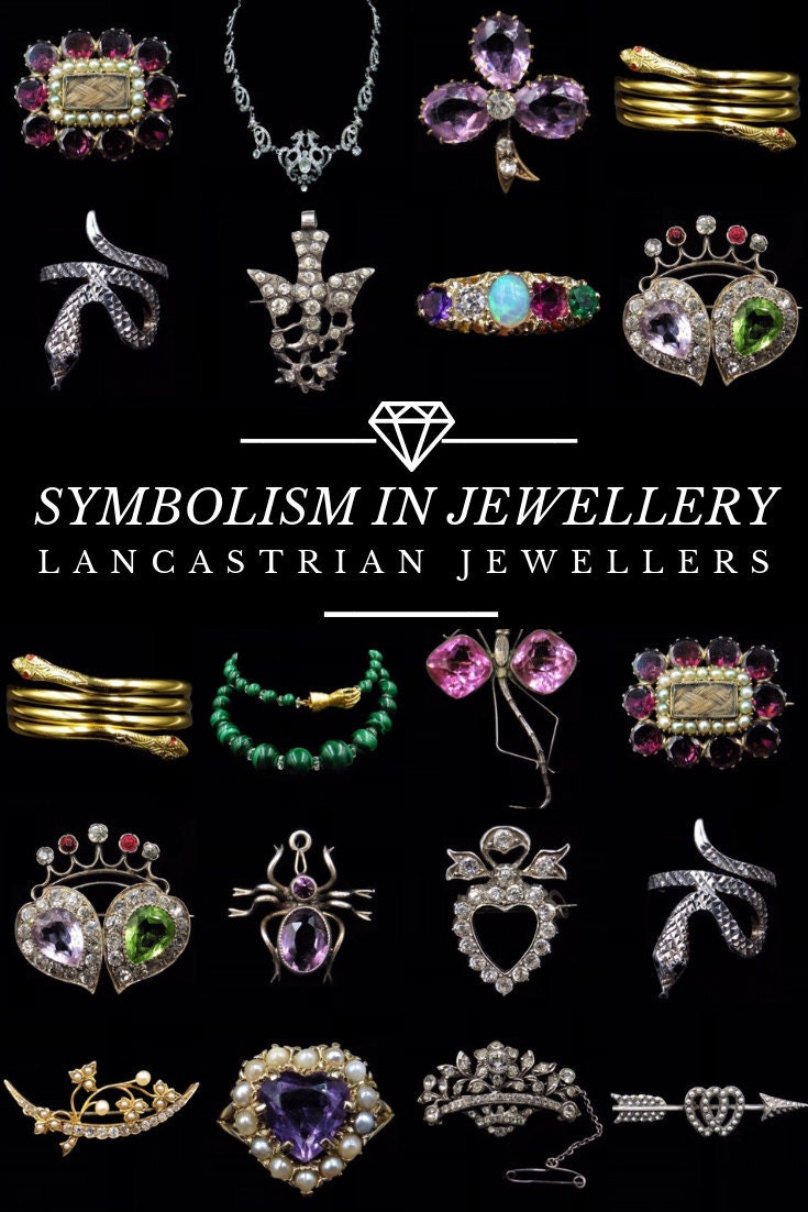 Symbolism in Jewellery Pinterest Pin