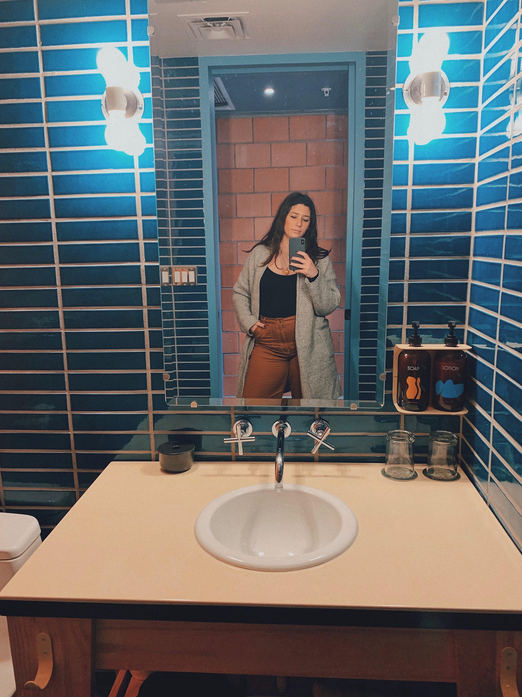 Carpenter Hotel Bathroom Austin Texas