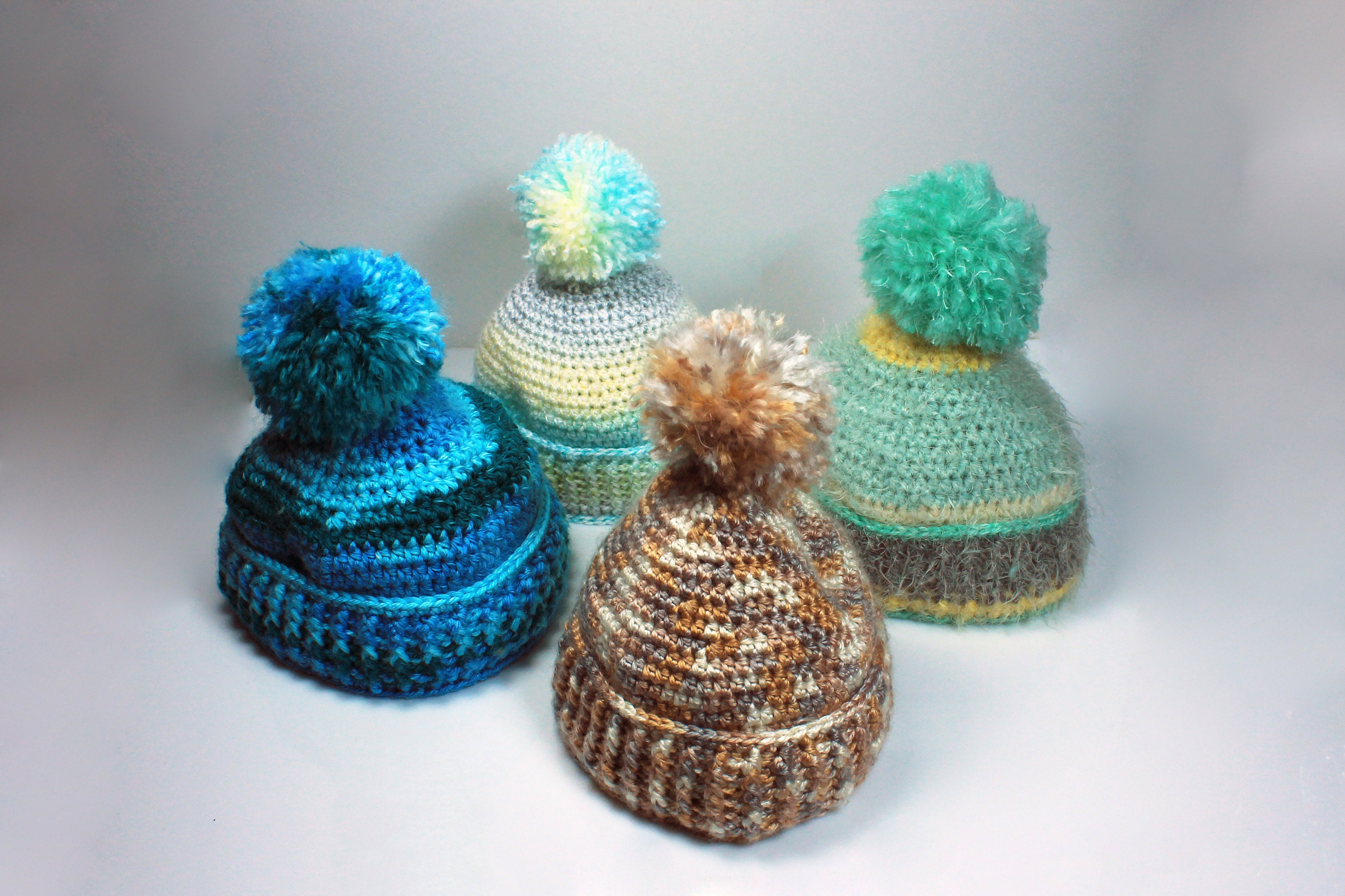 winter hats, baby hats,