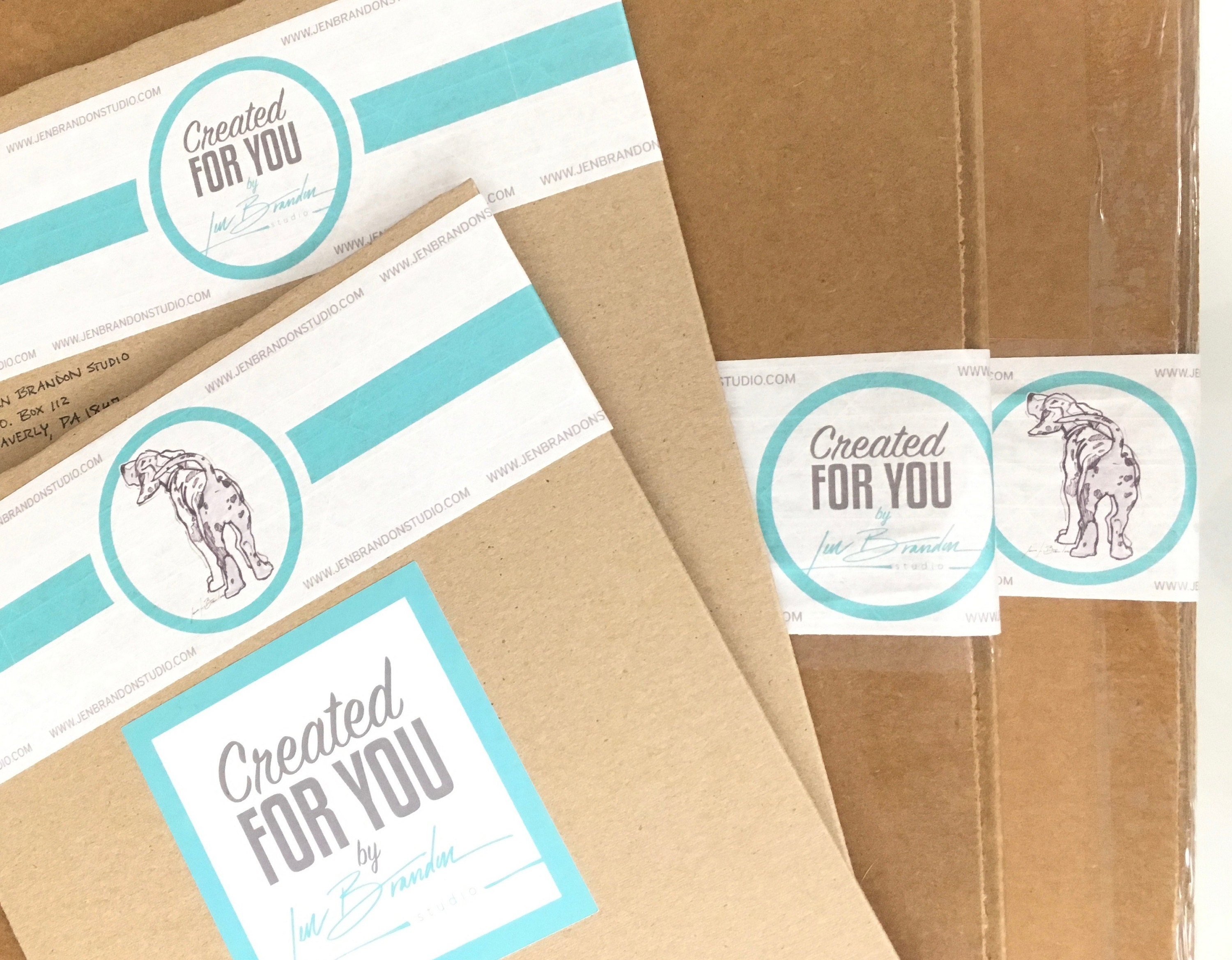 Created For You by Jen Brandon Studio Tape