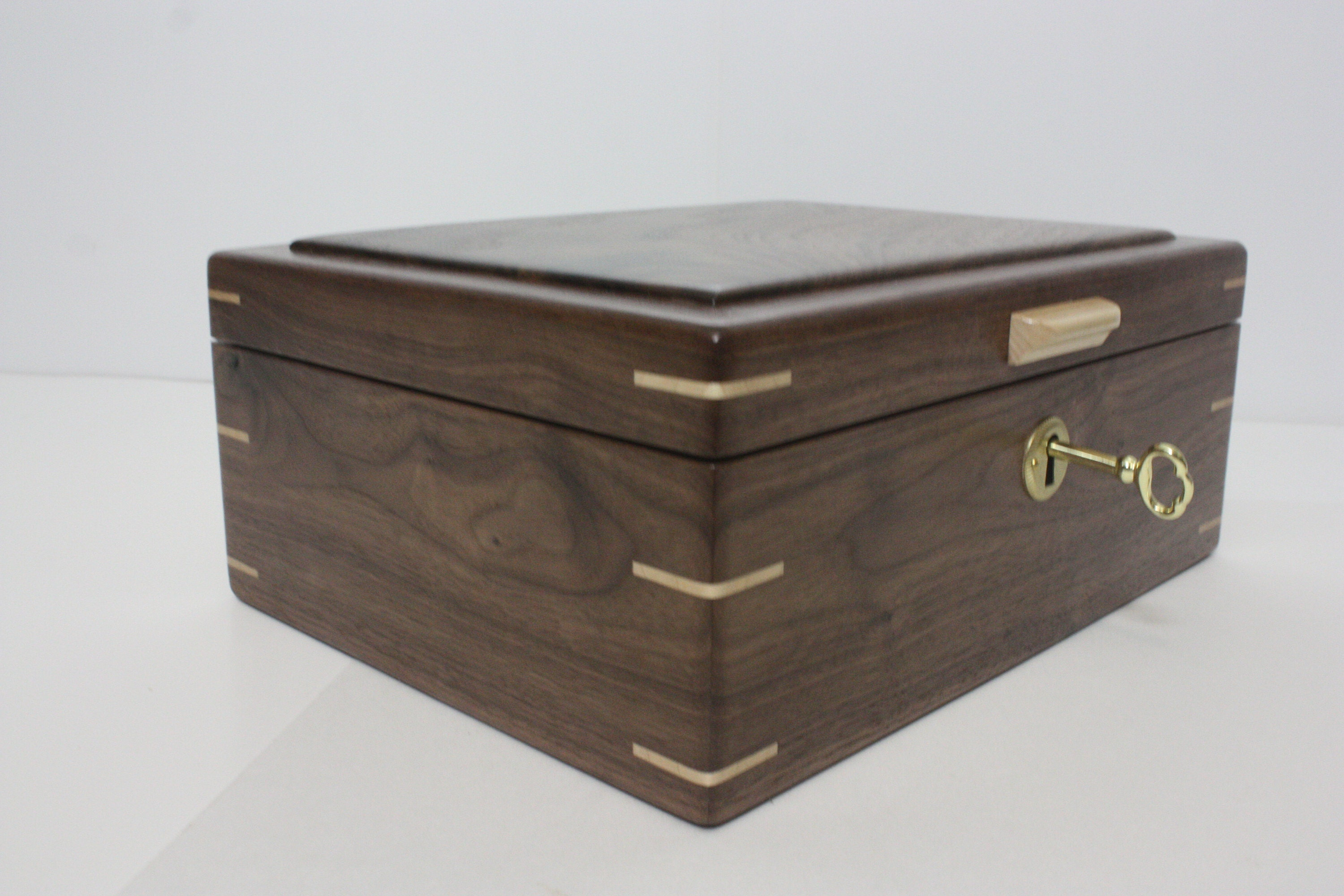 Handcrafted Locking Box For Sale