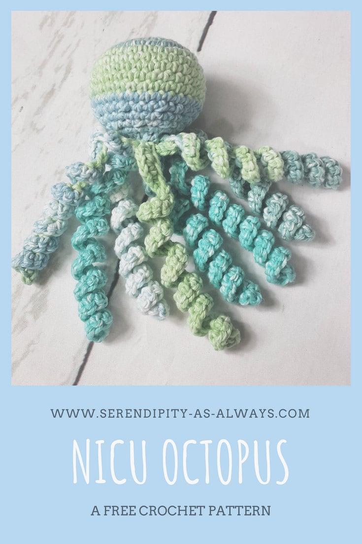 Nicu Octopus A Free Crochet Pattern