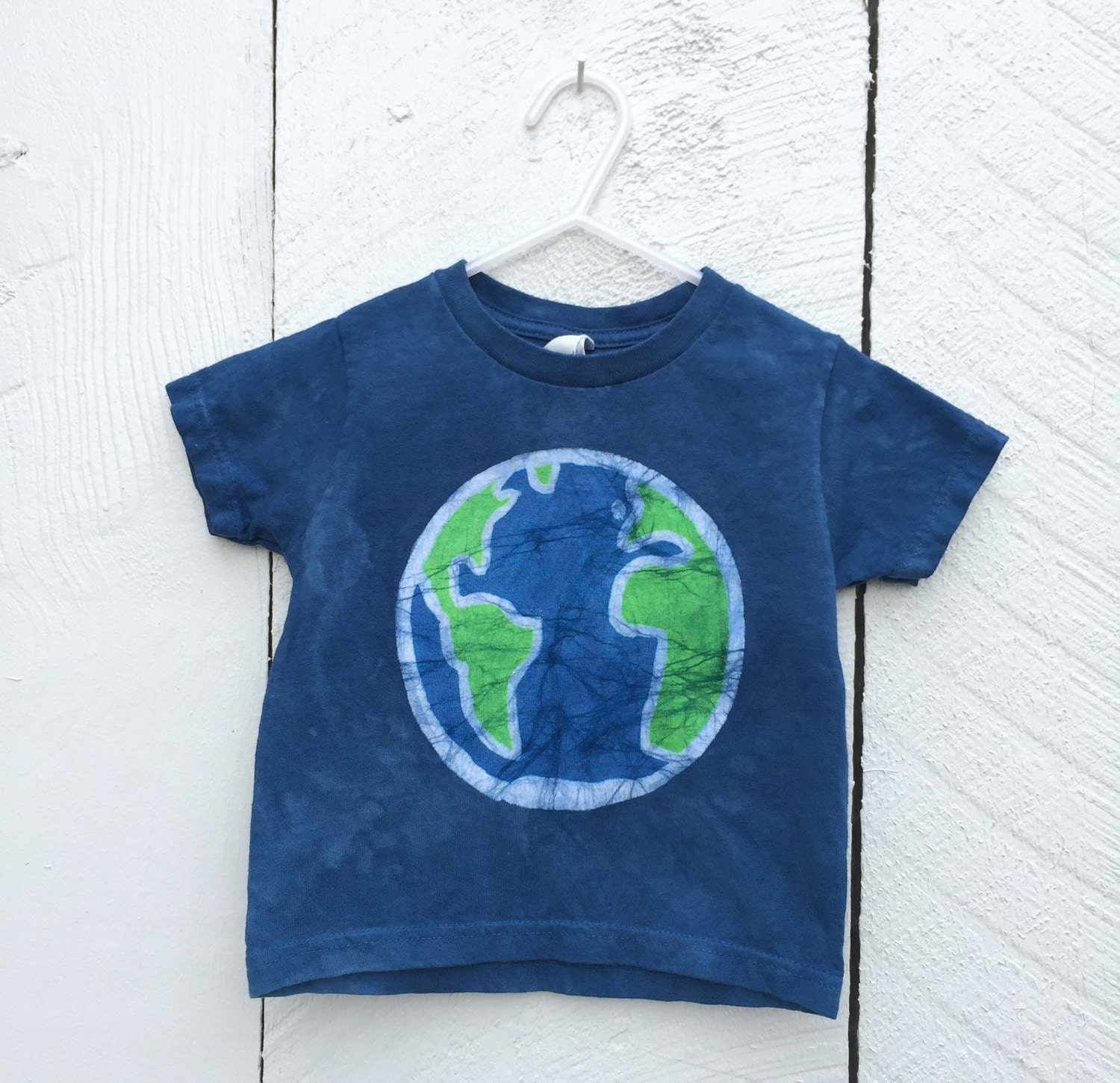 Earth shirt by Peace, Baby! Batiks