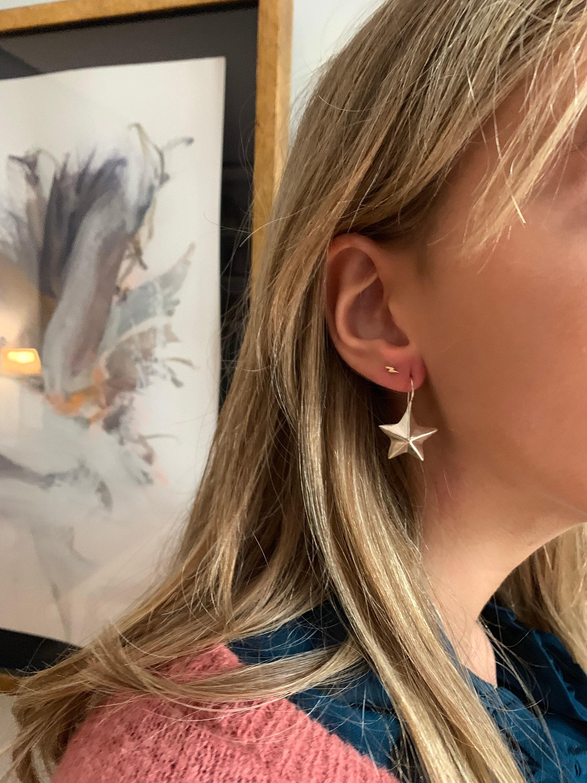 star earrings pendientes estrellas stella taxco silver sterling silver christmasgift