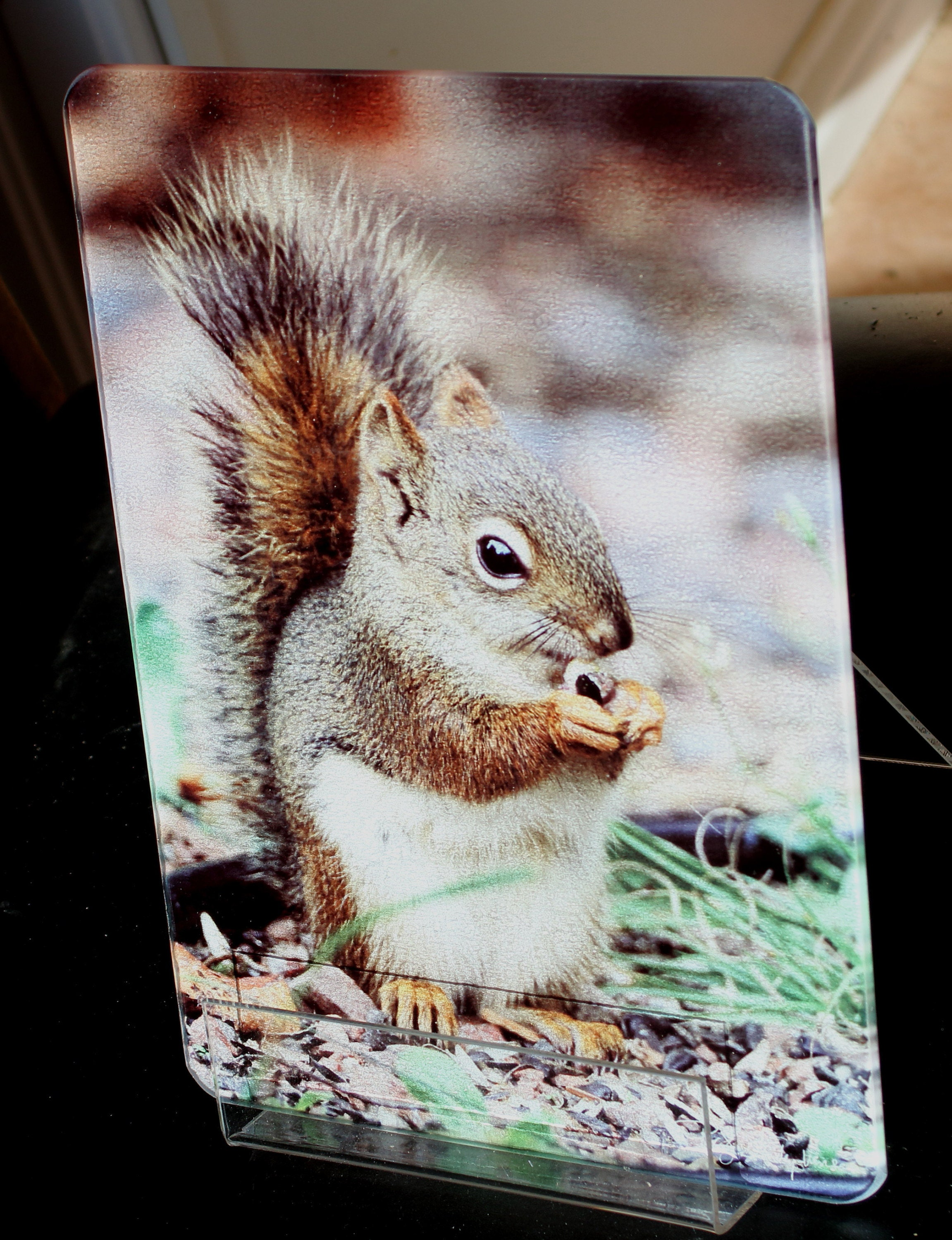 Red Squirrel MN Cutting Board Small