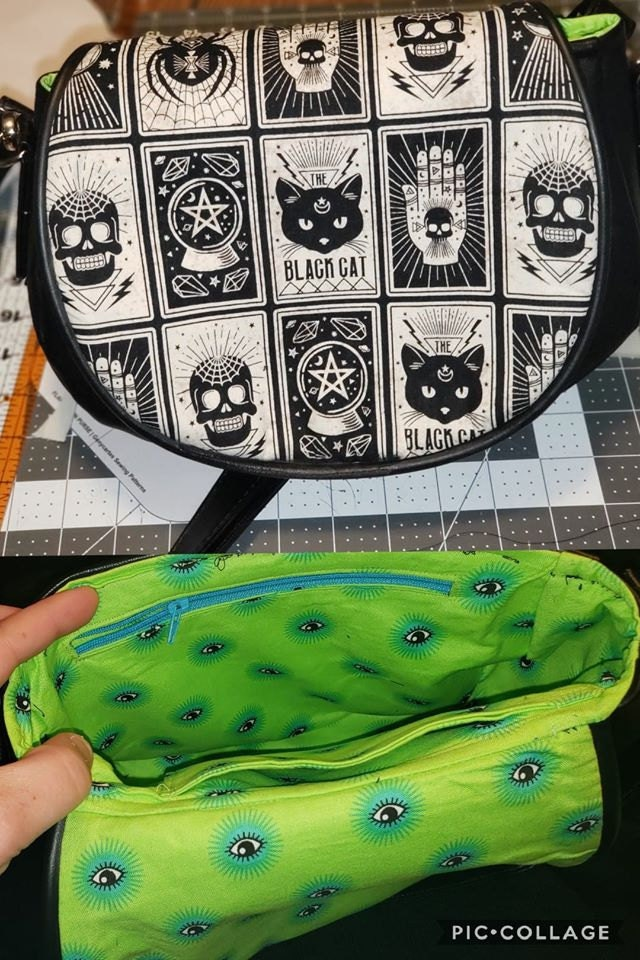 Serena Saddle Bag pattern