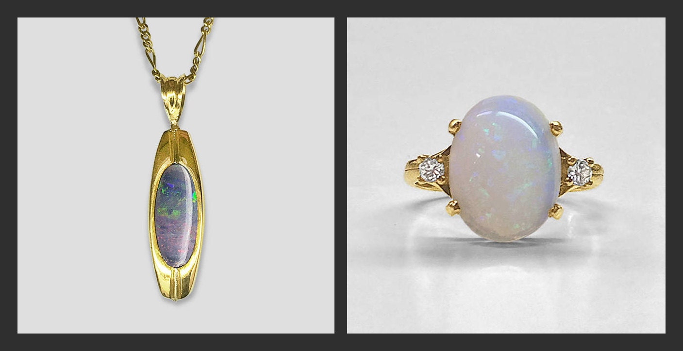 Black-White-Opal-Comparison-yellow-gold-jewelry
