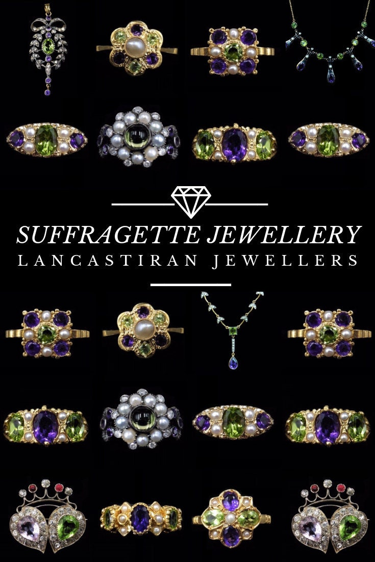 Pinterest Suffragette Jewellery