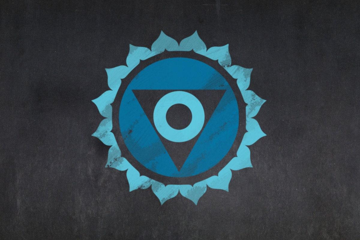 Vishhuda blue chakra