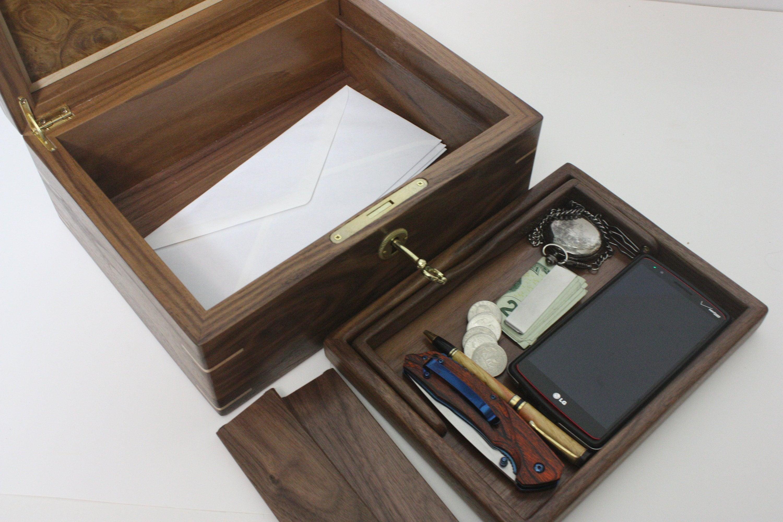 Large Mens Valet Box