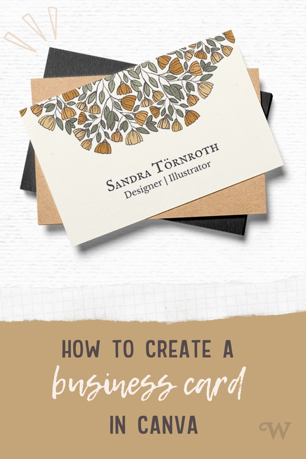 DIY business card with Canva