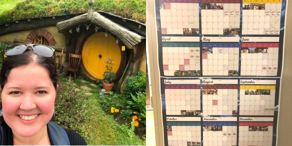 Hobbiton, calendar