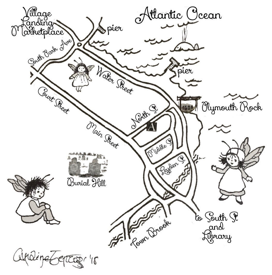 ALL THE FAIRY FACTS ABOUT THE PLYMOUTH FAIRY DOOR TRAIL!