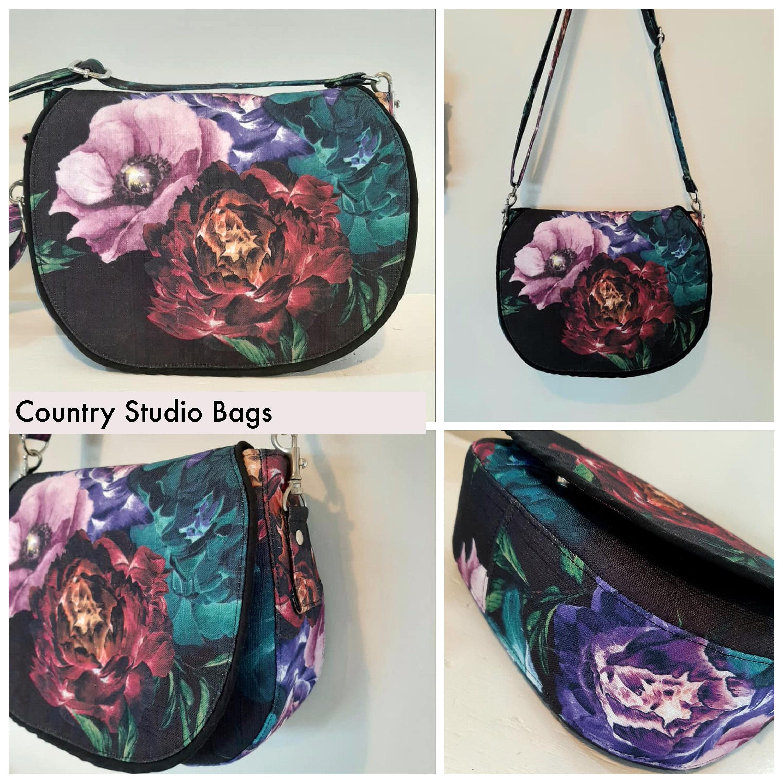 Country Studio Bags Serena saddle bag digital pattern
