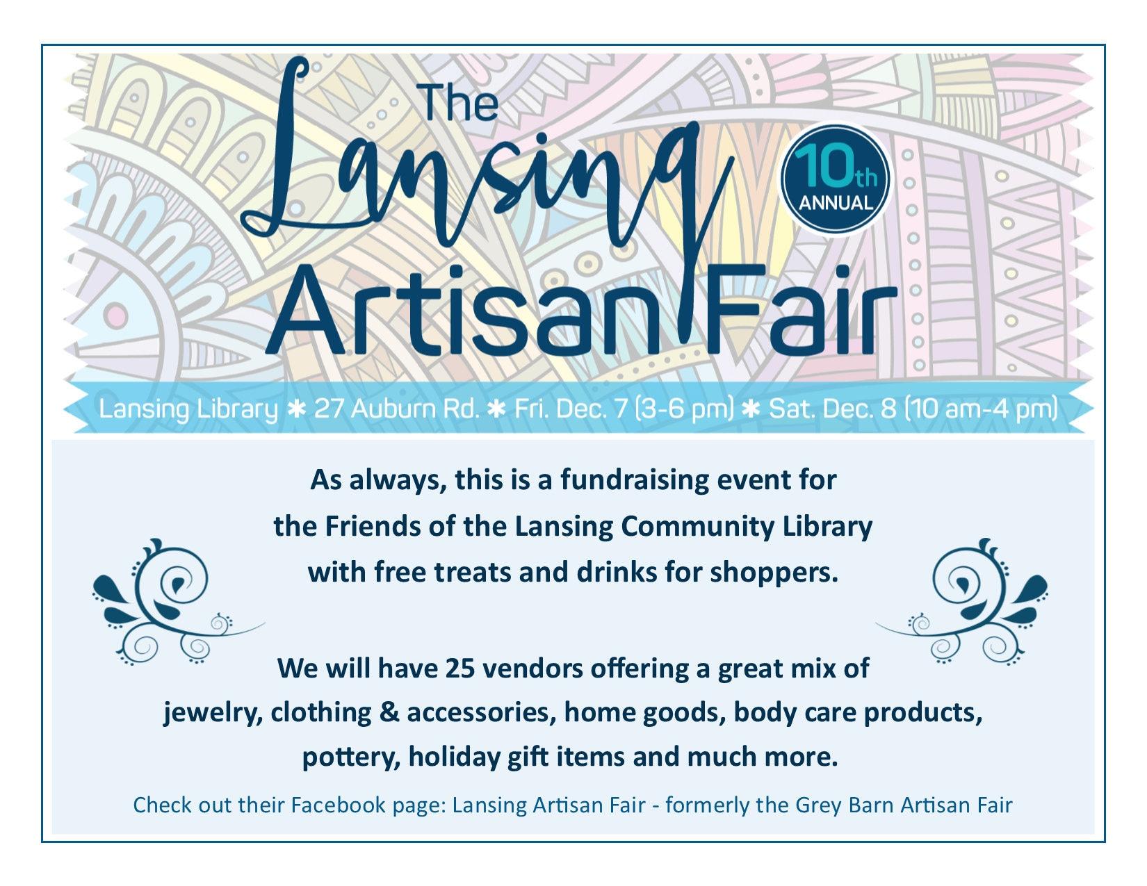 Lansing Artisan Fair