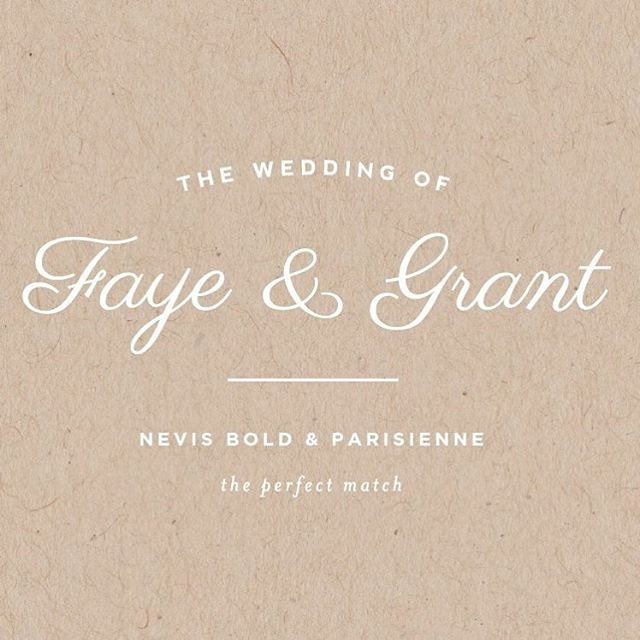 Best Free Wedding Font Pairings The Perfect Match 1