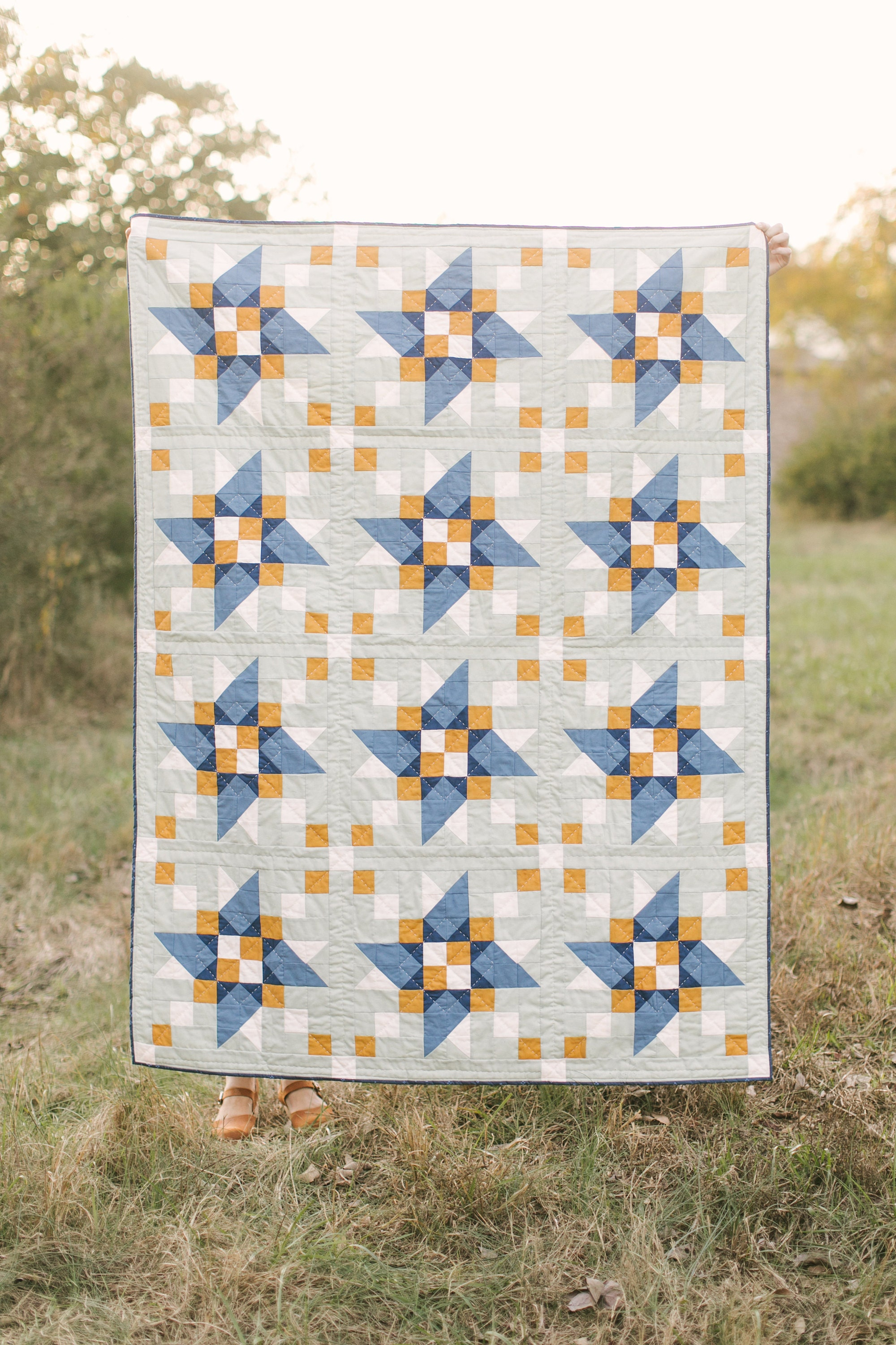 This is the Boulted Quilt pattern I released in November 2019.