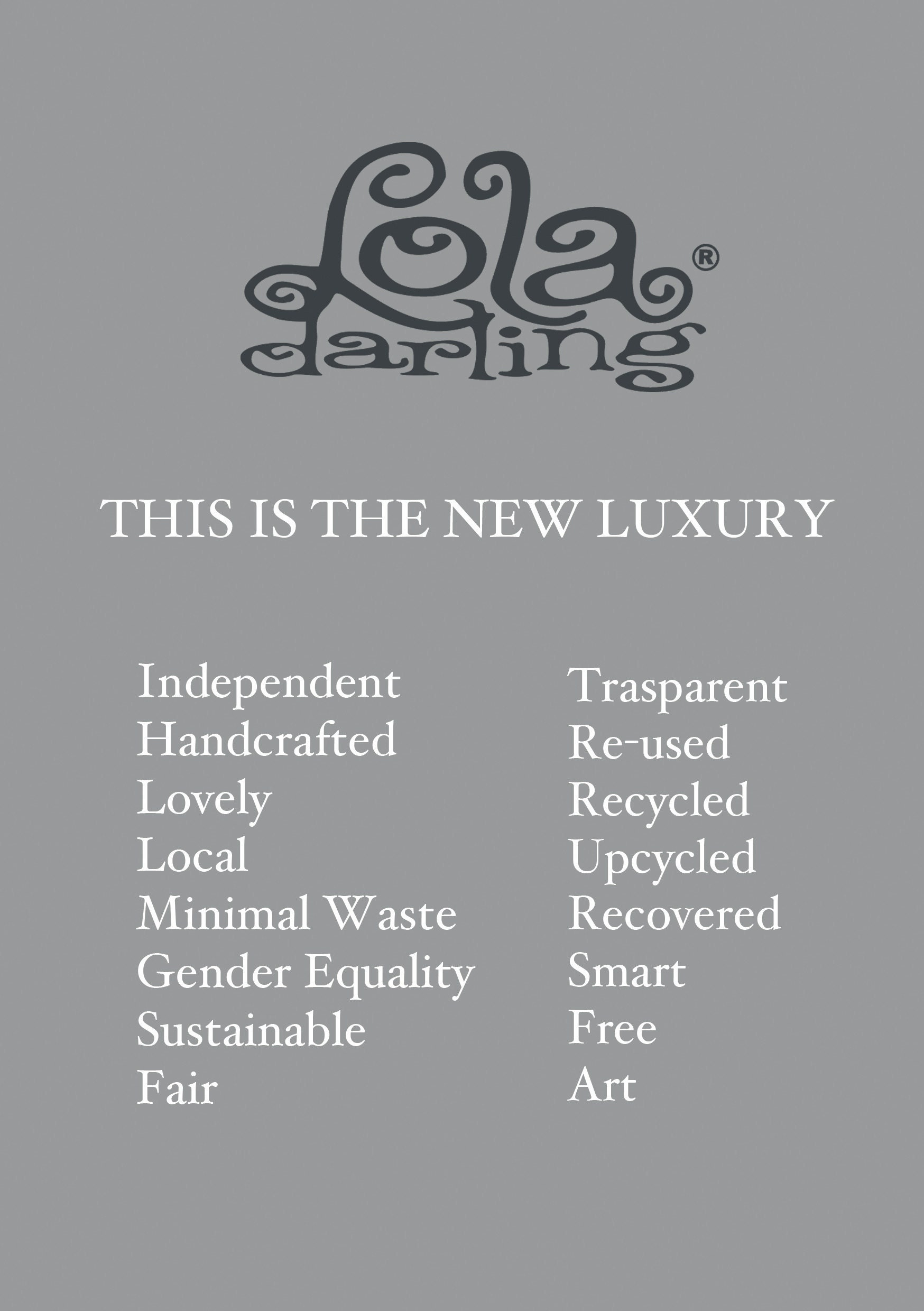 this is the new luxury lola darling