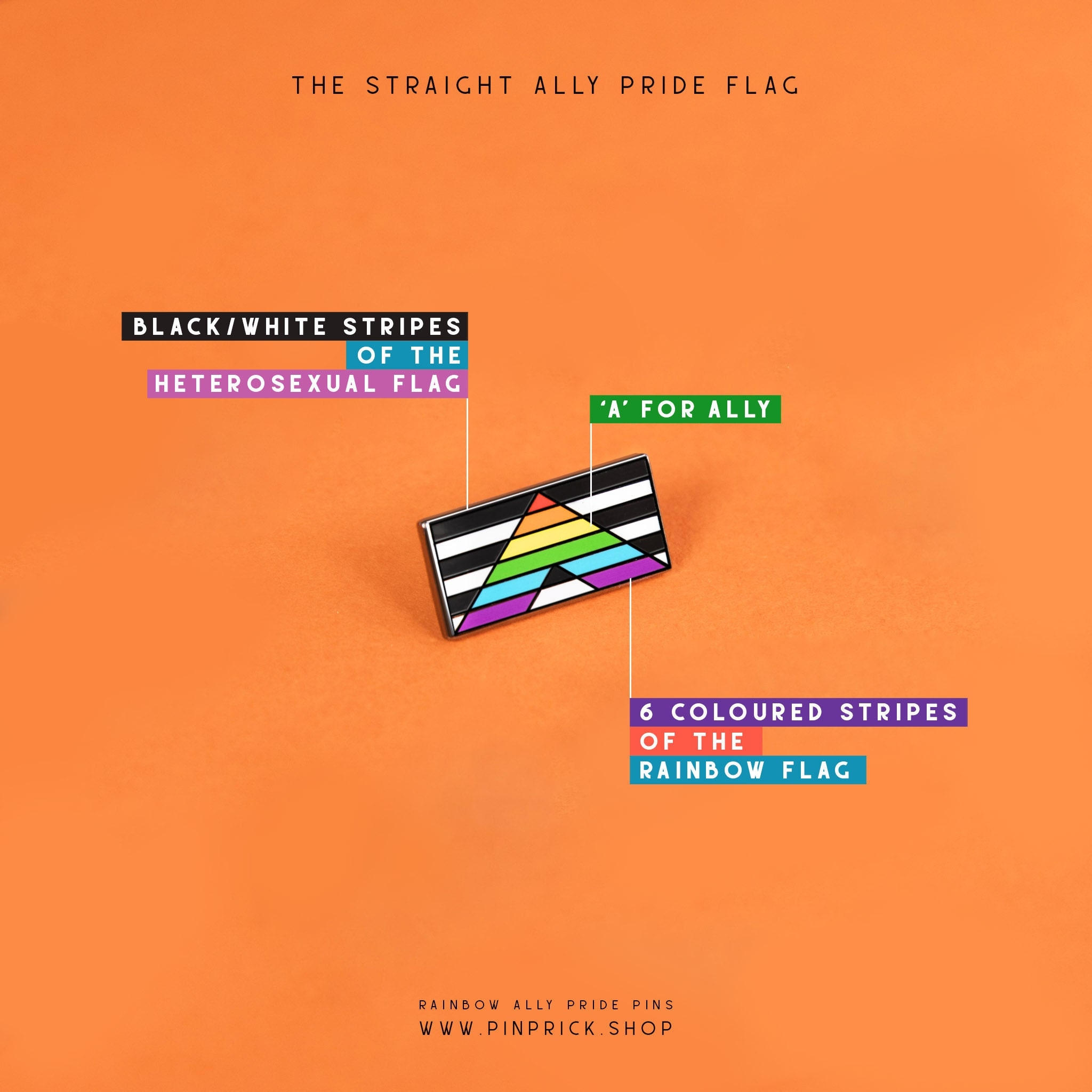 Meaning Symbolism History Straight Ally Pride Flag Support