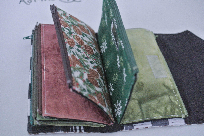 zippered envelopes