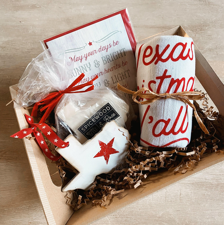 Texas Christmas Favorites Gift Basket