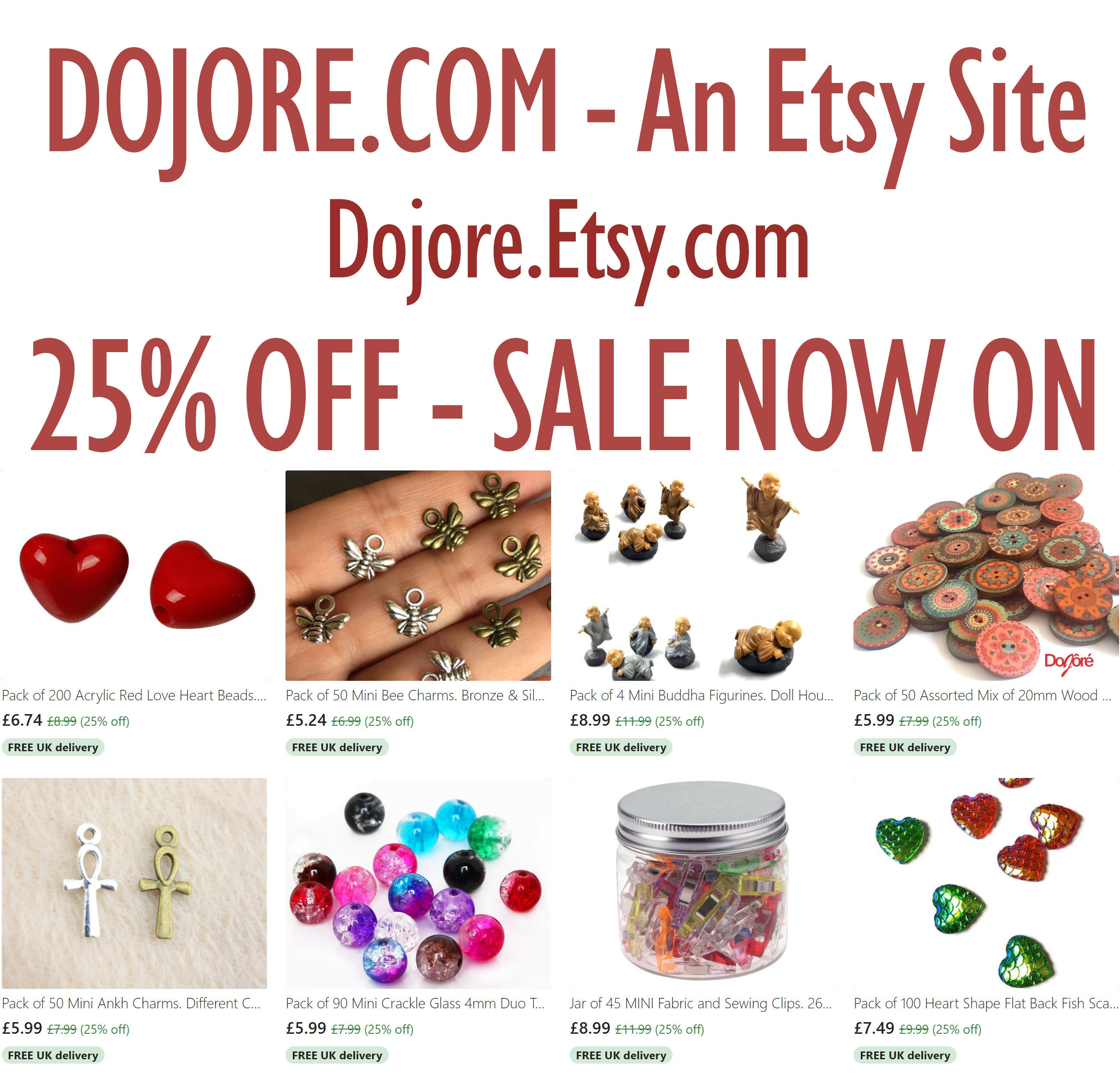 25% OFF - SALE NOW ON