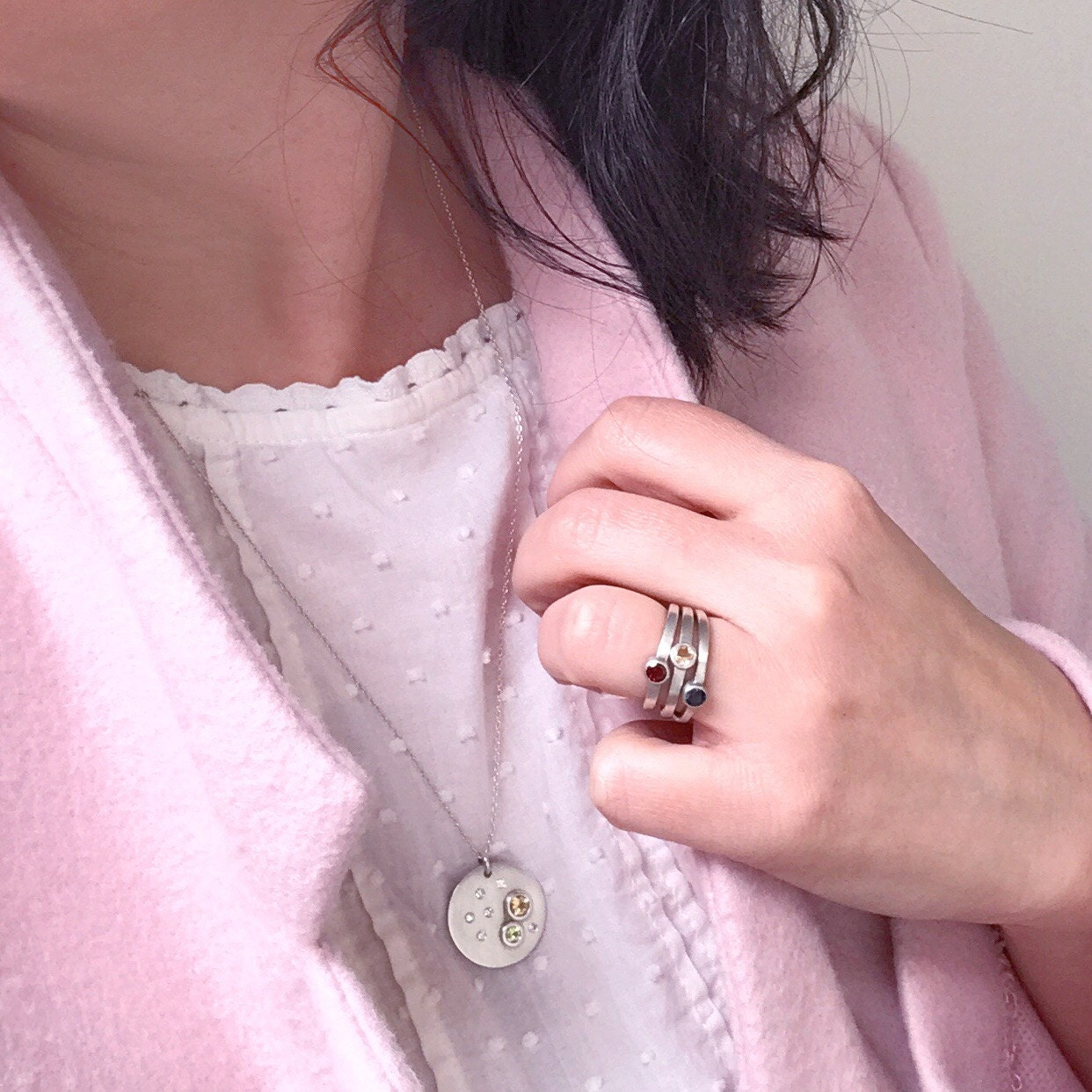 Rings by crescent & crow