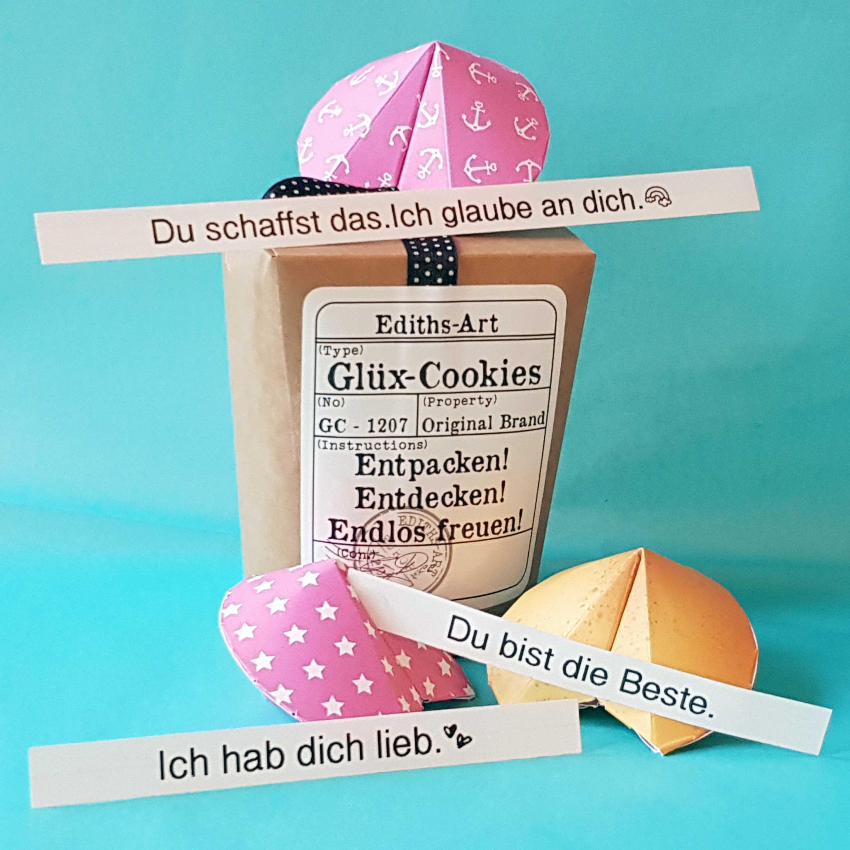 3er Box Geschenkidee beste Freundin Glüx Cookies