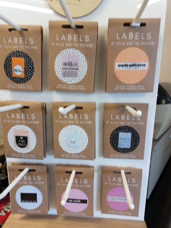 Hey Gorgeous - its has pockets - me made clothing labels by KATM