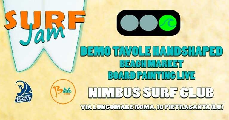 Seangolare mute su misura al Surf Jam Nimbus Surf Club