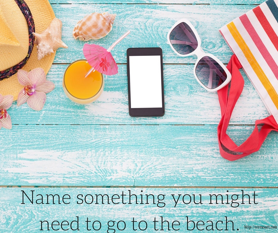 Name something you might need to go to the beach