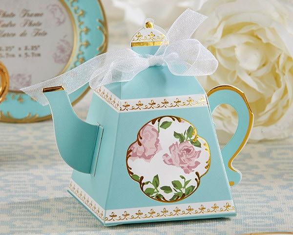 Tea Pot Favor Boxes