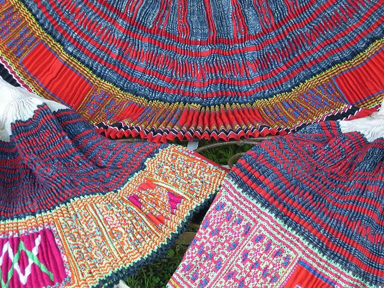 Hmong Skirt