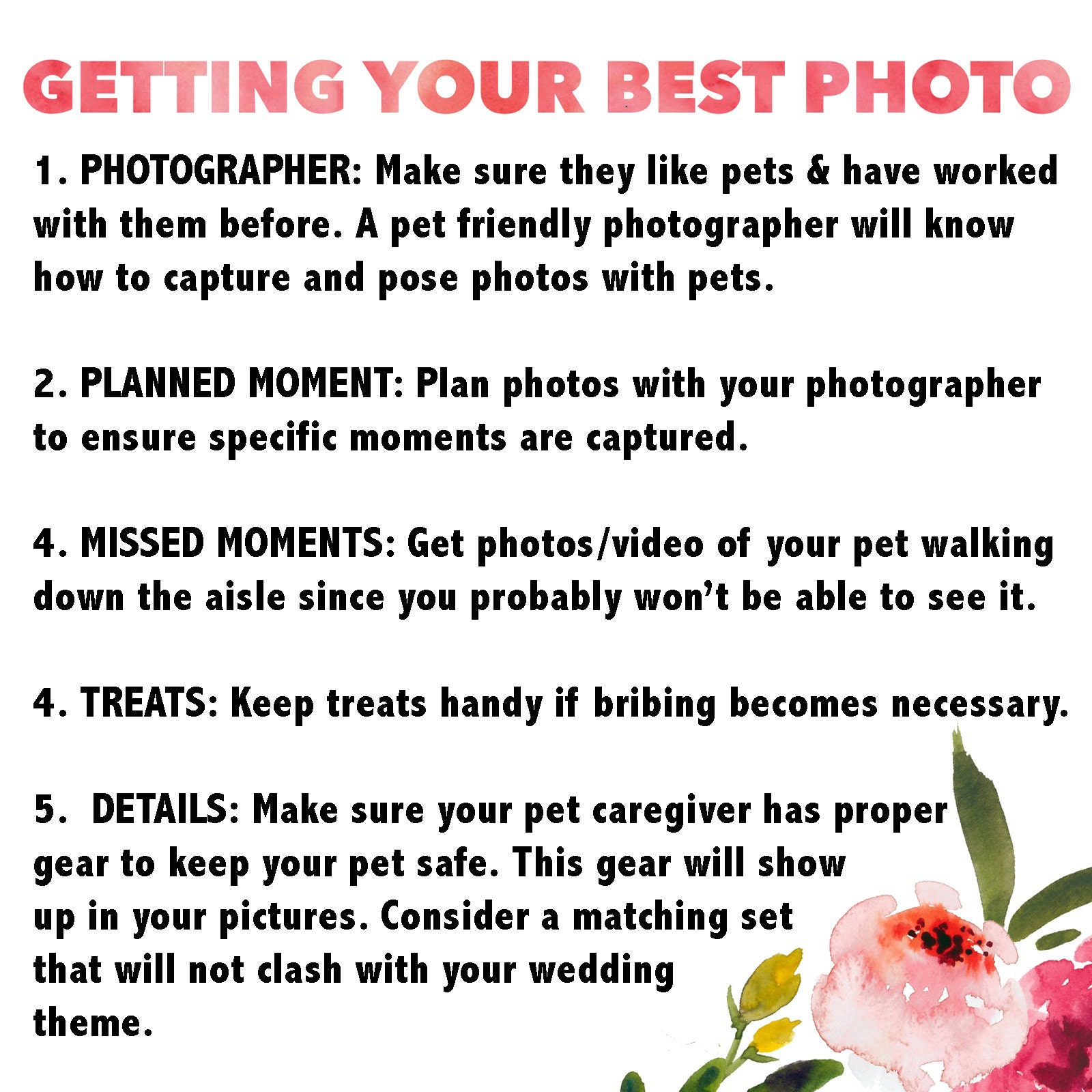 Getting Your Best Photo