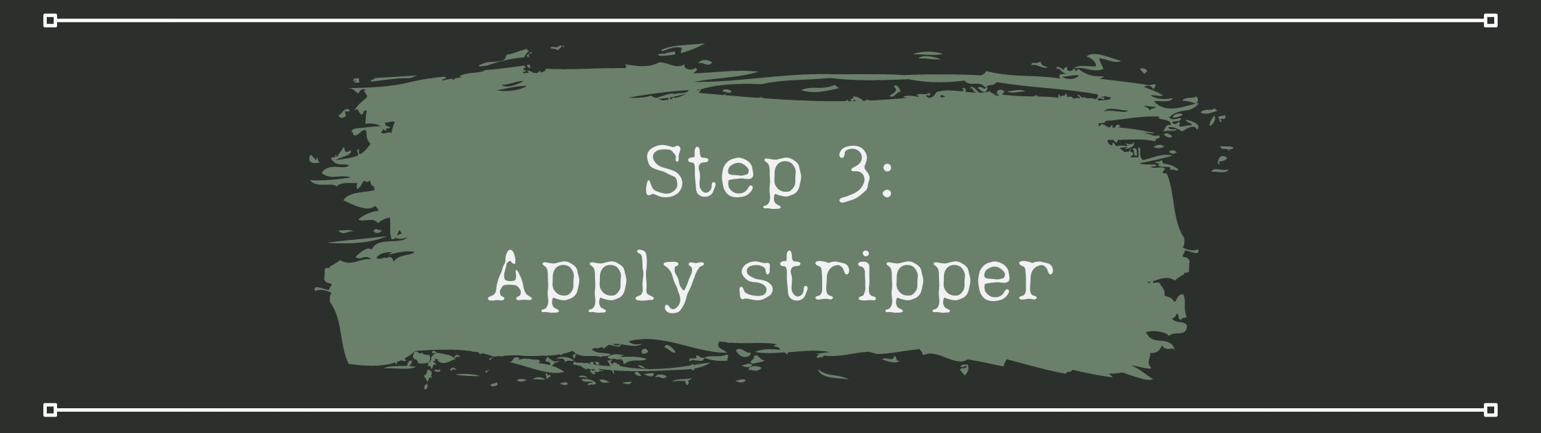 Apply your stripper