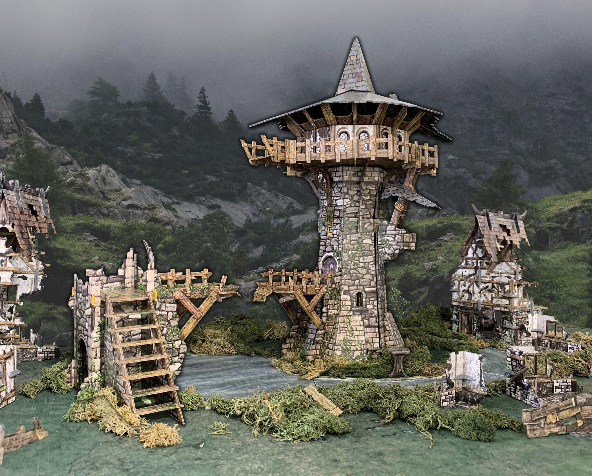 La tour du sorcier