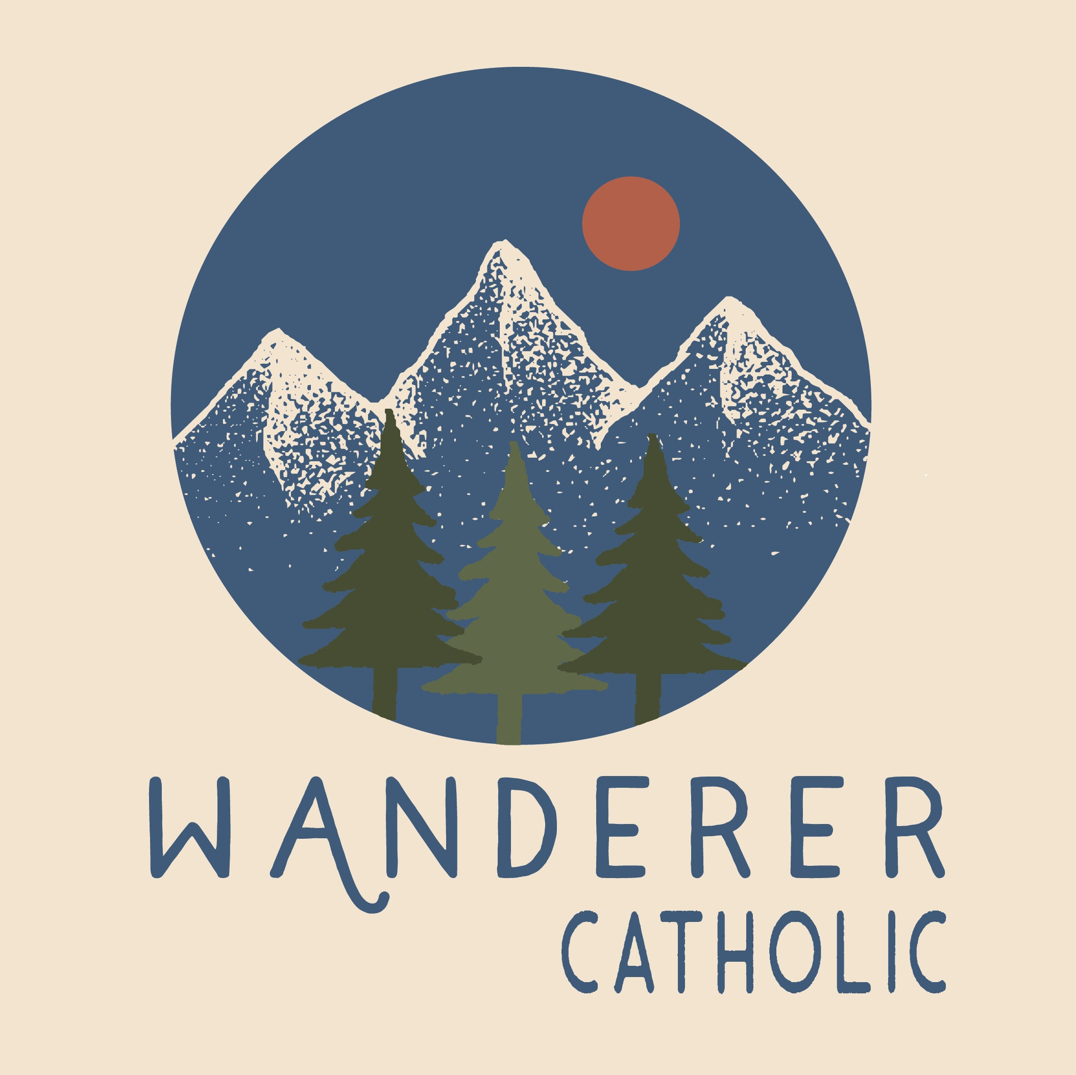 Wanderer Catholic Freebie Pack~in Sticker