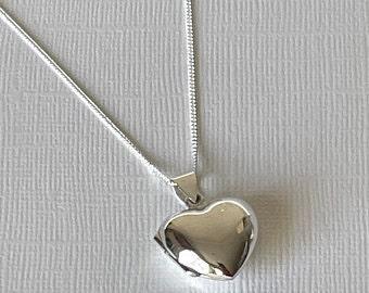 small heart locket