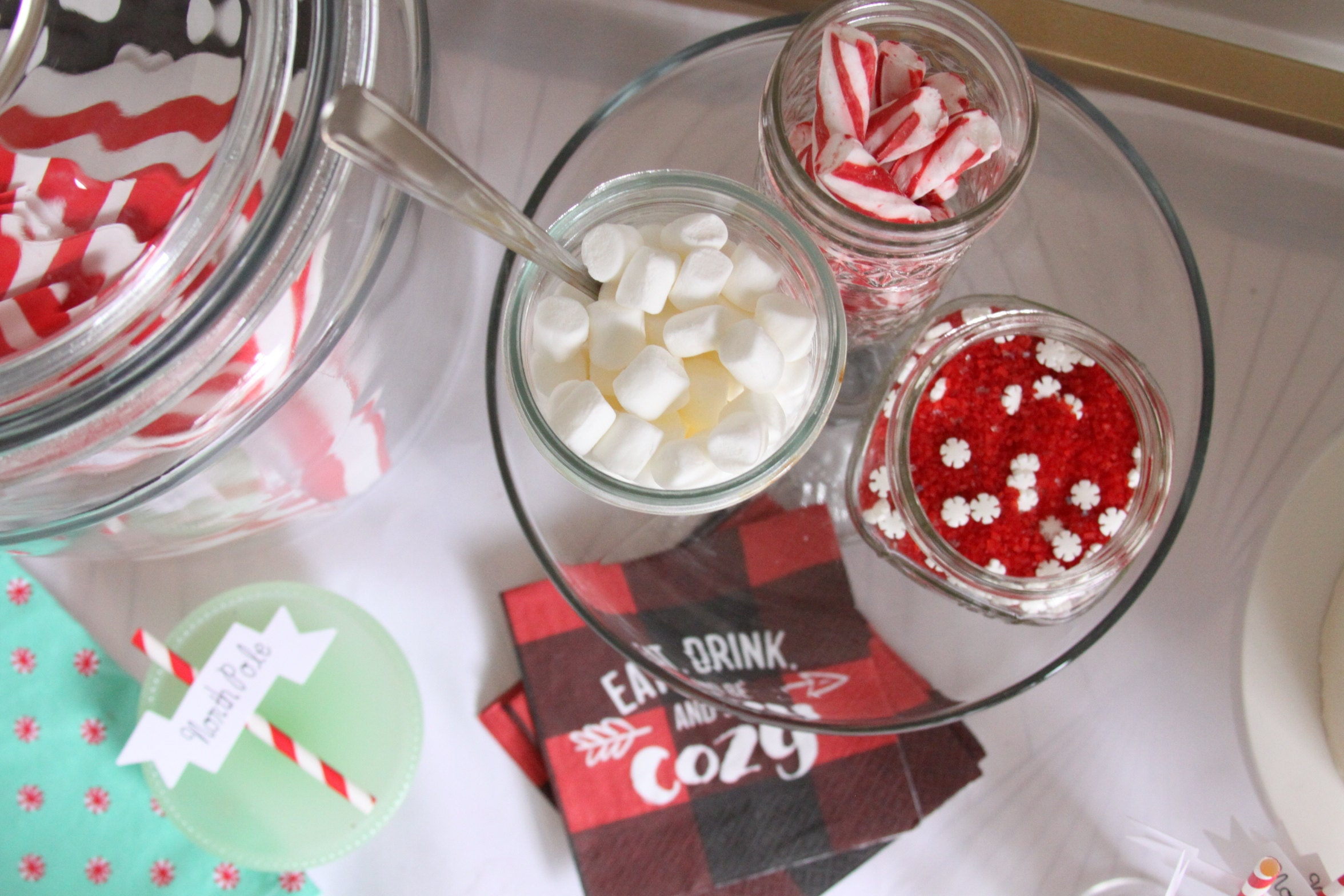 Hot Cocoa Bar How To - Toppings for Hot Chocolate