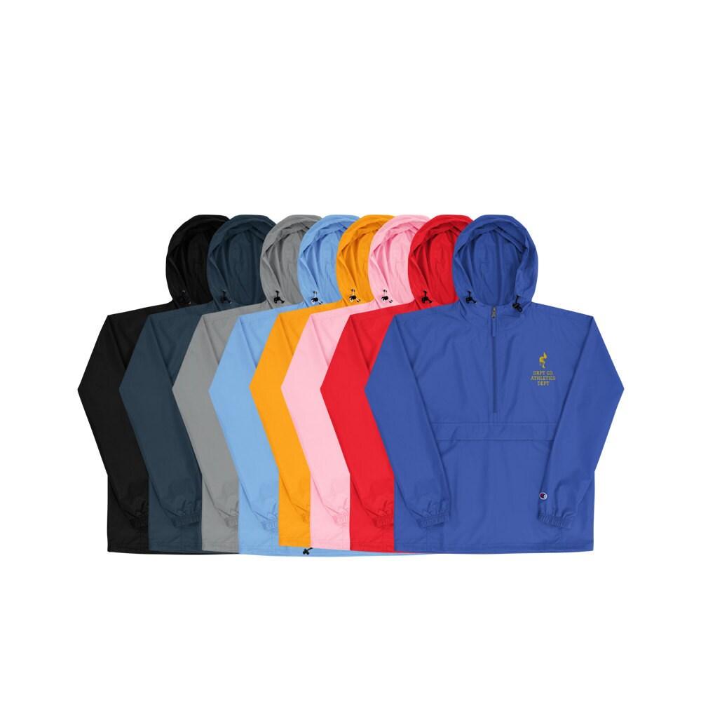 champion nylon windbreaker packable jackets multi colour