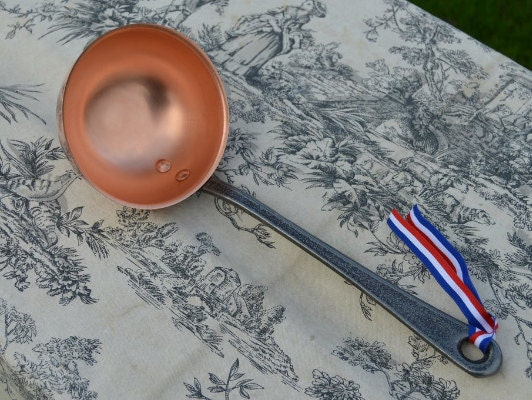 Solid Copper NKC Ladles and Ecumoires