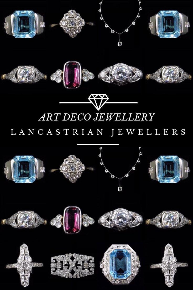 Pinterest Pin - Art Deco Jewellery
