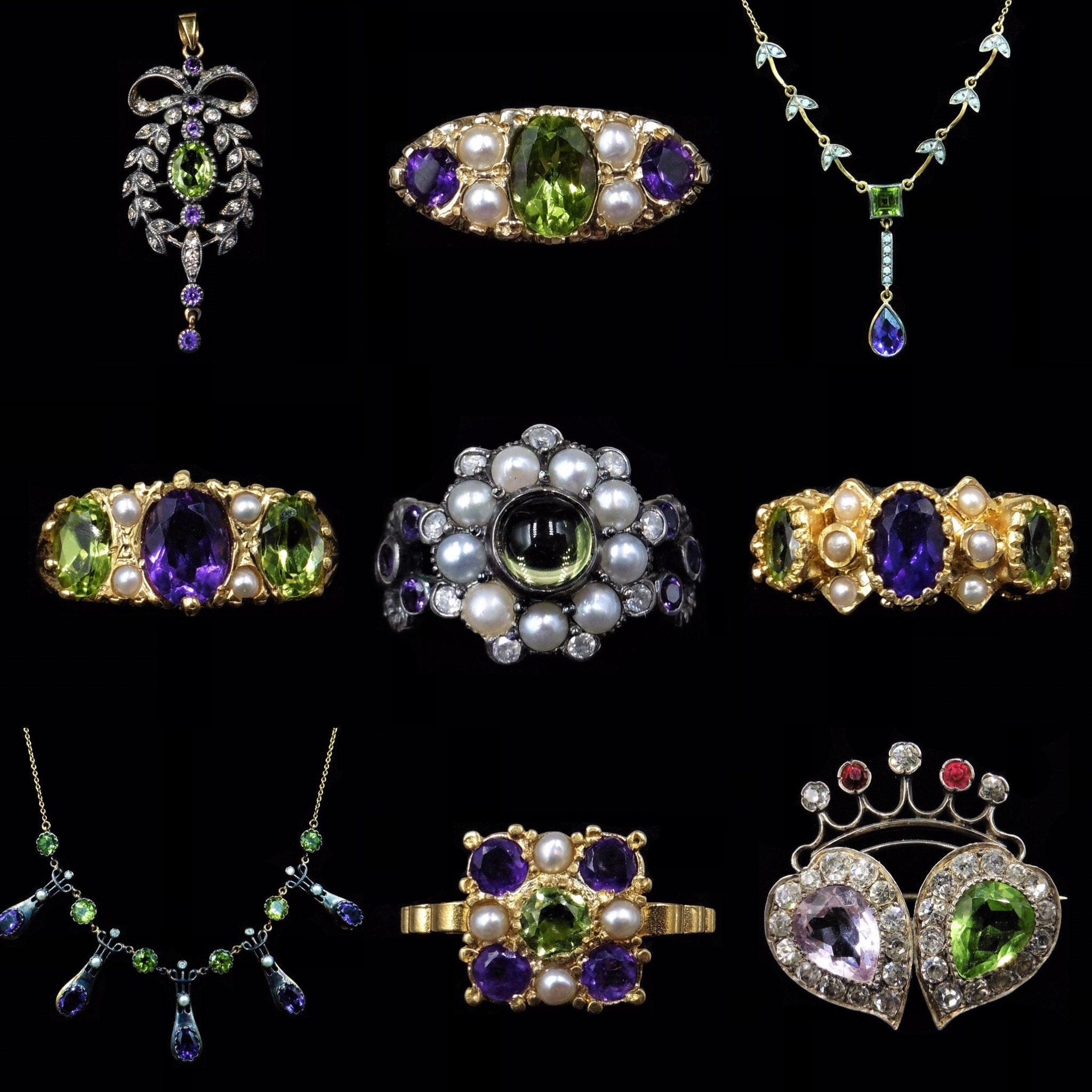 Suffragette Style Jewellery