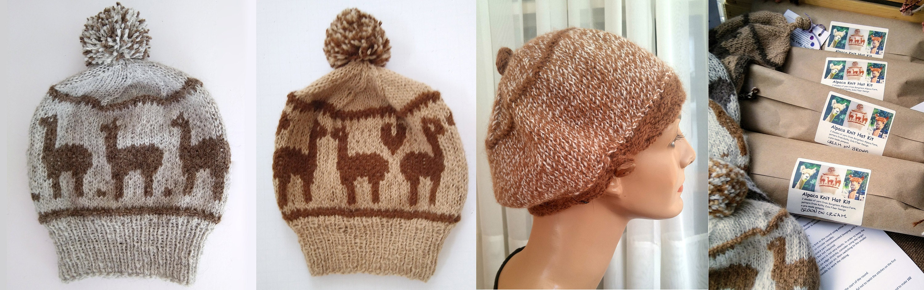 Sample Borgstein alpaca products in my shop