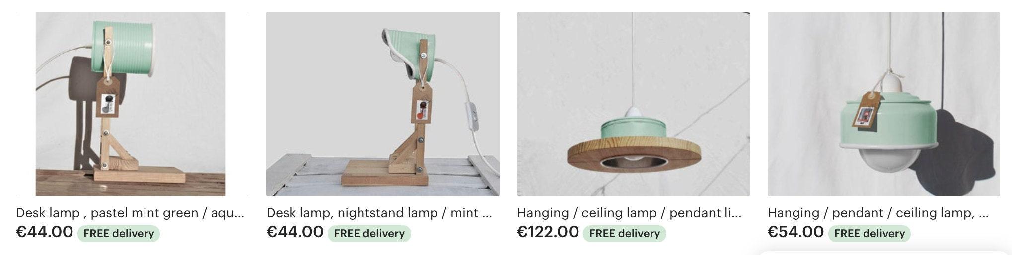MINT LAMPS BY ILIUI