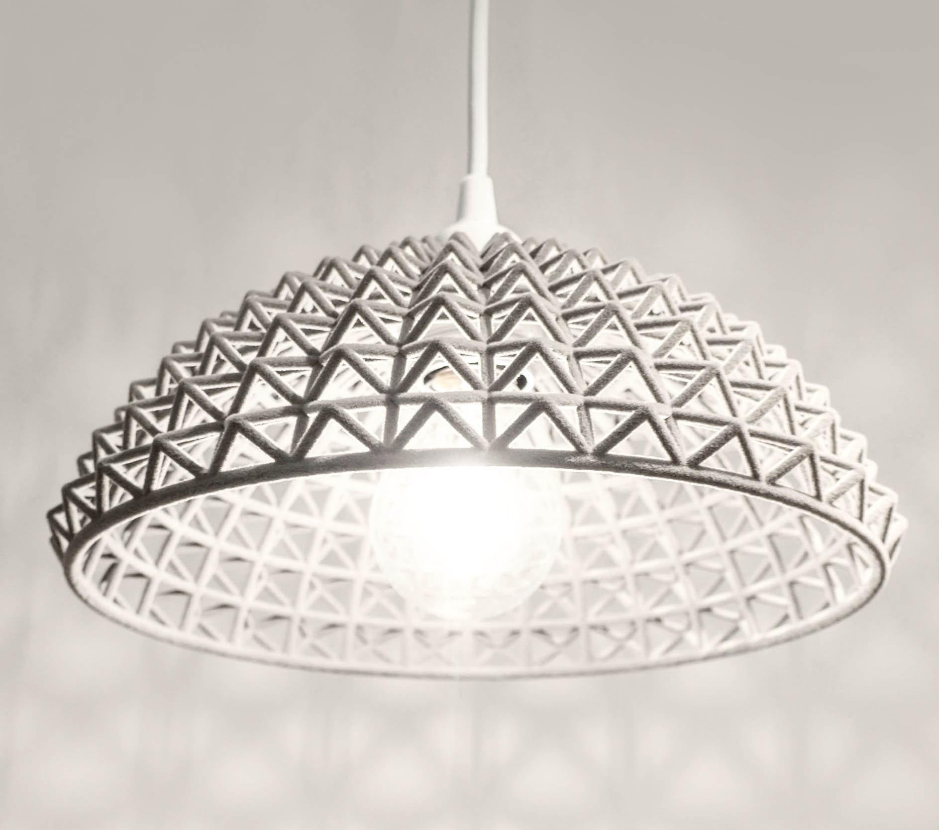3D printed Geometric lampshade