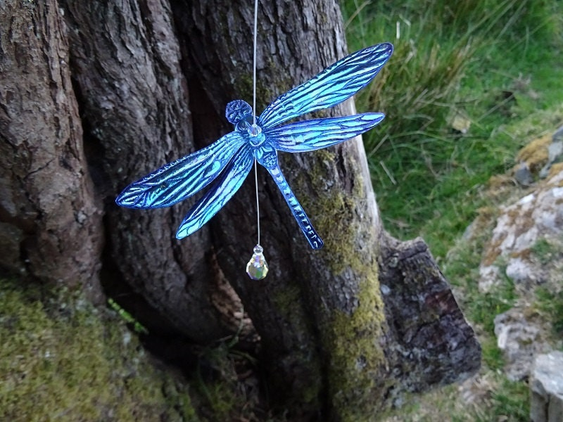Northern Lights Dragonfly Suncatcher