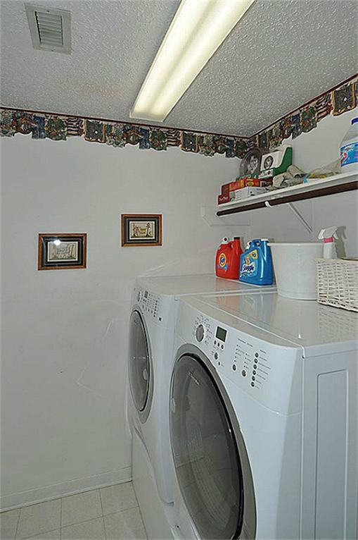 Laundry room at our house in Atascocita.