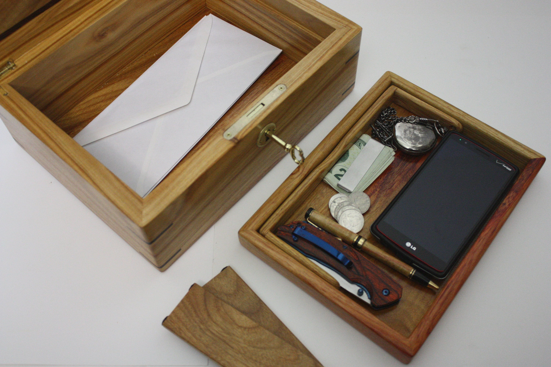 Canarywood Mens Valet Box
